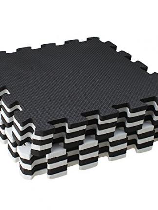 Foam Speelmat Zwart-Wit