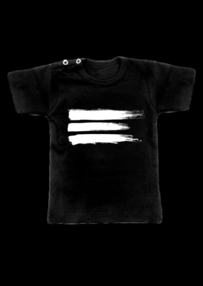 Brush T-Shirt Zwart