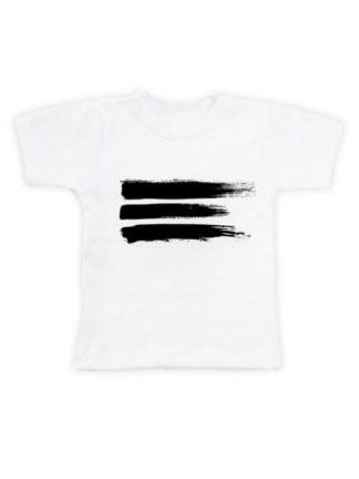 Brush T-Shirt Wit