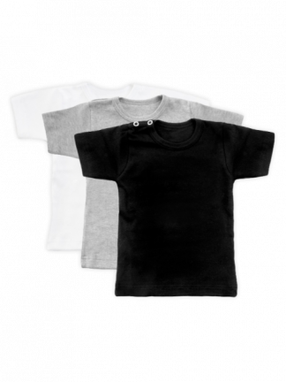 set 3 stuks Basic T-Shirts baby