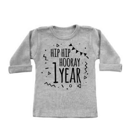 Hip_Hip_Hooray_1_year_longsleeves_grey