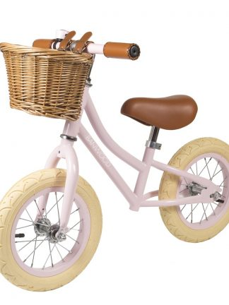 Banwood First Go Loopfiets Roze