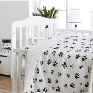 Kid's Concept NEO Baby Bedlinnen Zwart Wit
