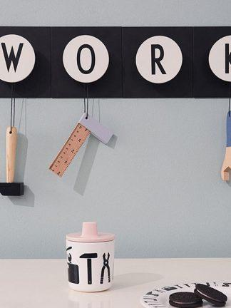 Design Letters School Tools Serviesset