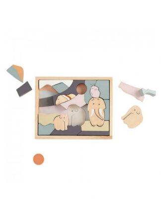 Kid's Concept Houten Dieren Puzzel NEO