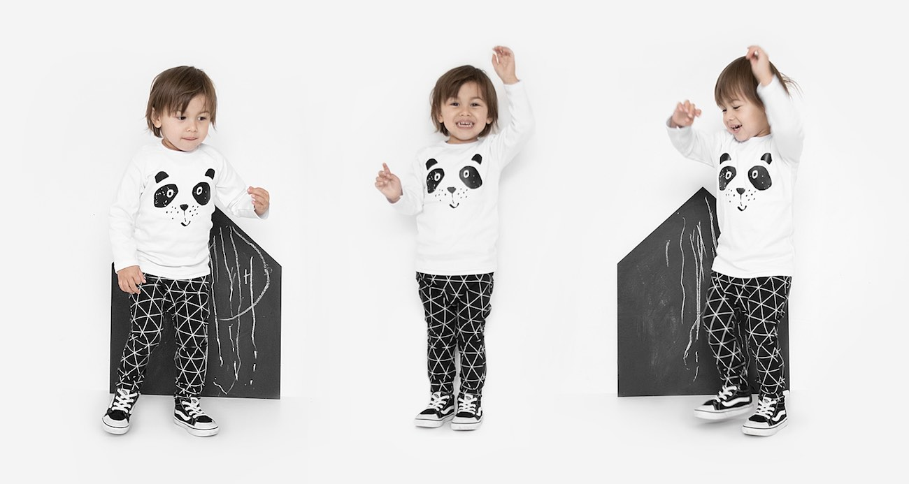 webshop monochrome babykleding