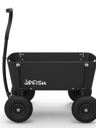 Jipfish Wagon Black houten bolderkar-1