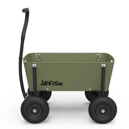 jipfish kids wagon sturdy green bolderkar