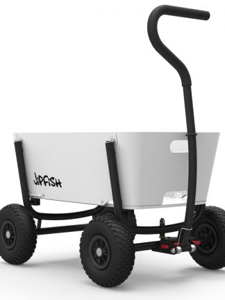 jipfish kids wagon white houten bolderkar