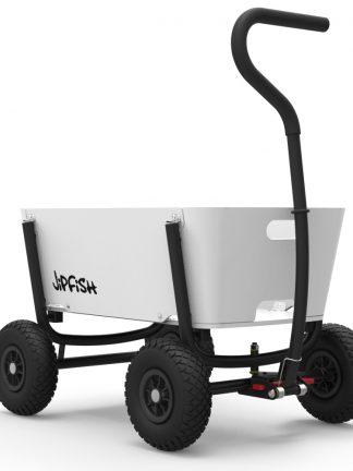 jipfish kids wagon white houten bolderkar