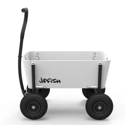 Jipfish Wagon White houten bolderkar