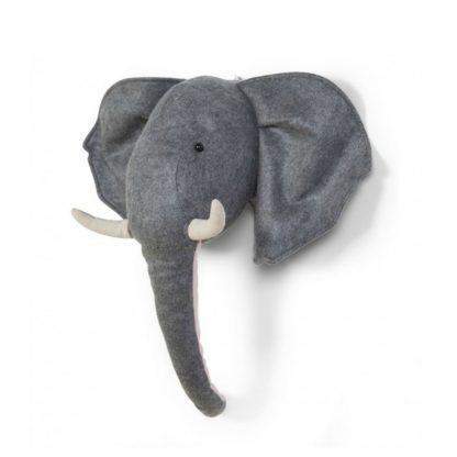 childhome-vilten-muur-decoratie-olifant