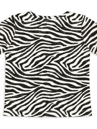 Sleep No More Shopping Is Cheaper Than Therapy Zebra T-Shirt