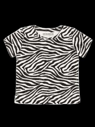 Zebra T Shirt Front