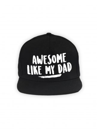 Awesome like my dad cap zwart