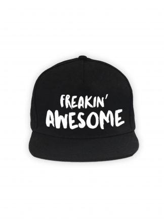 Freakin' Awesome Cap Zwart