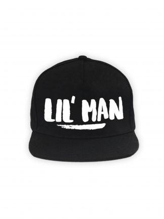 Lil' Man Cap Zwart