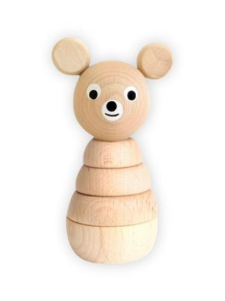 Sarah and Bendrix - Benedict - Wooden Stacking Bear