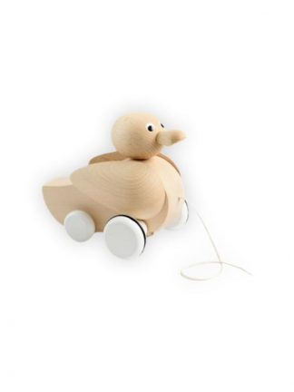 Sarah and Bendrix - Genevieve - Wooden Pull-Along Duck