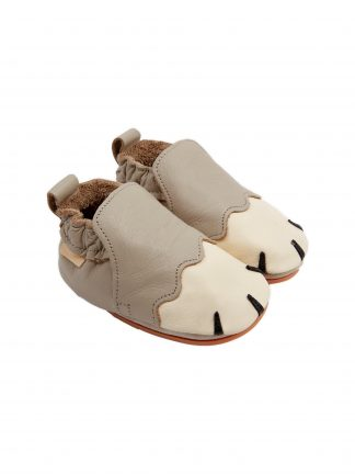 Boumy Paws Pale Grey Leather