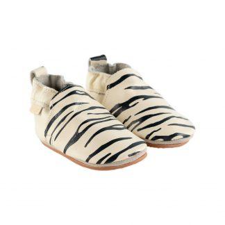 Boumy SINKI Zebra Cream Leather