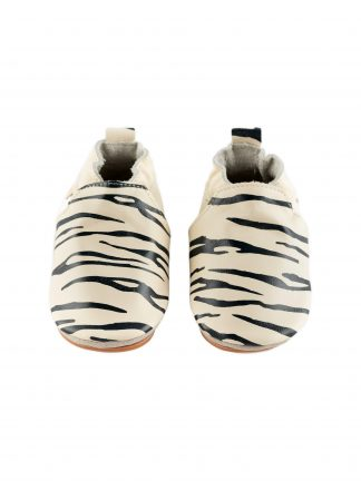 Boumy SINKI Zebra Cream Leather