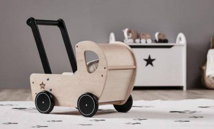 Kid's Concept Houten poppenwagen