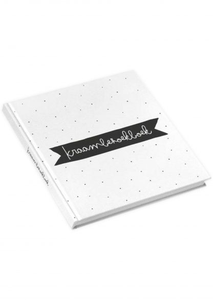 kidooz Kraambezoekboek zwart