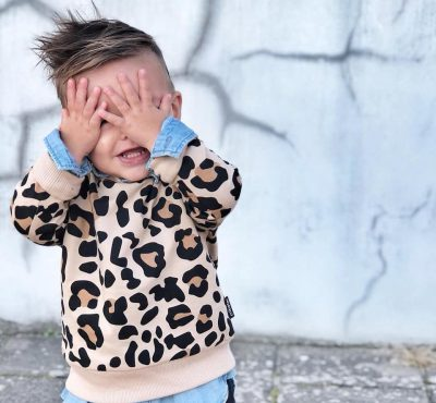 Cribstar – Beige Leopard Sweatshirt