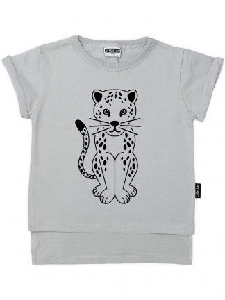 Cribstar – Spotty Leopard Grijs
