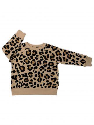 Cribstar - Beige Leopard Sweatshirt