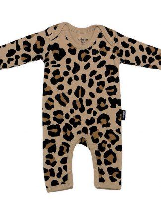 Cribstar - Beige Leopard Romper