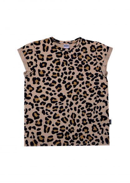 Cribstar - Beige Leopard T-Shirt Volwassenen