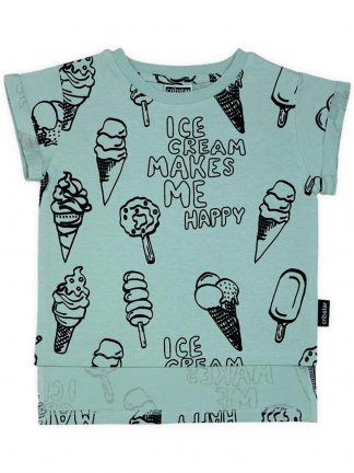Cribstar - Ice Cream Makes Me Happy T-Shirt